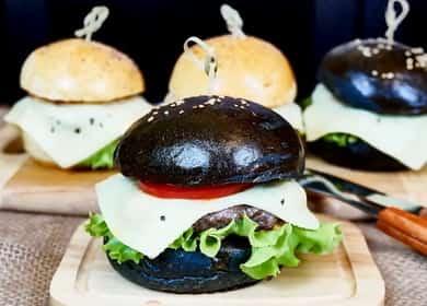 Рецепт плоских котлет для бургеров из говядины 🍔