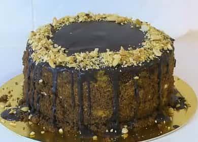 Торт сникерс с безе: пошаговый рецепт с фото