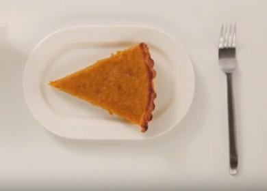 Как правильно приготовить американский тыквенный пирог 🎃