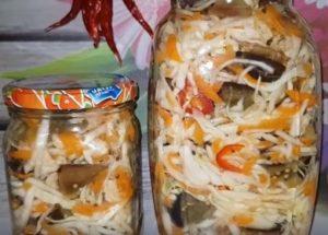Заготавливаем вкусные баклажаны с капустой на зиму по пошаговому рецепту с фото.