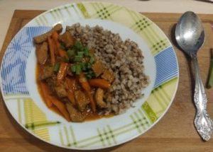 Вкусная гречка с подливой с мясом: готовим по пошаговому рецепту с фото.