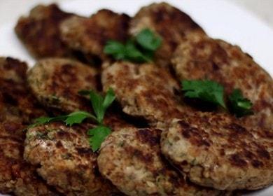 Вкусные и простые котлеты из гречки с грибами 🥣