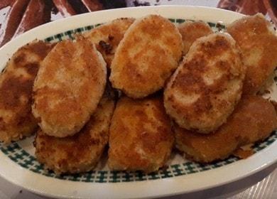 Простые и вкусные котлеты из картофельного пюре 🥔