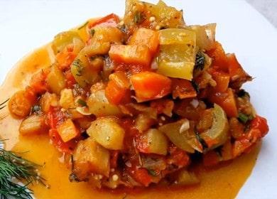 Вкусное, ароматное домашнее соте из овощей 🥙