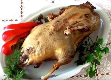 Как научиться готовить вкусную утку в рукаве в духовке 🍗
