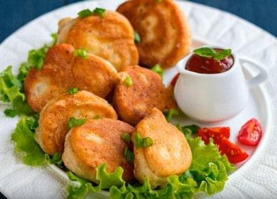 Цветная капуста в кляре, жареная на сковороде — простое, легкое в приготовлении, и очень вкусное блюдо 🥦