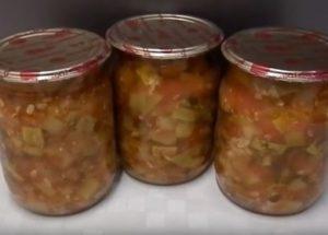 Вкусная юрча из кабачков на зиму: готовим по рецепту с фото.