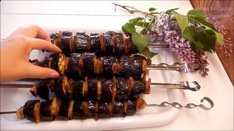 Баклажаны на углях - вкус шашлыка