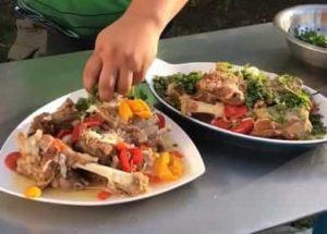 Баранина с овощами в казане по пошаговому рецепту с фото
