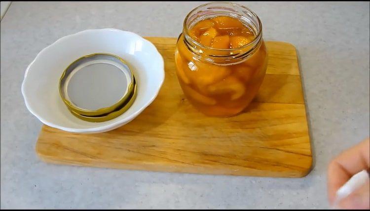 Вкусное и простое варенье из персиков дольками