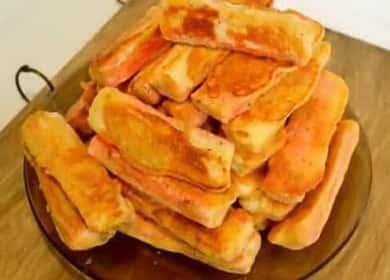 Как научиться готовить вкусные жареные крабовые палочки 呂
