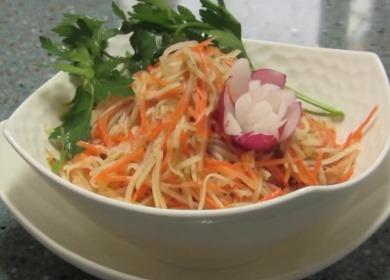 Салат из кольраби — простой рецепт приготовления🥗