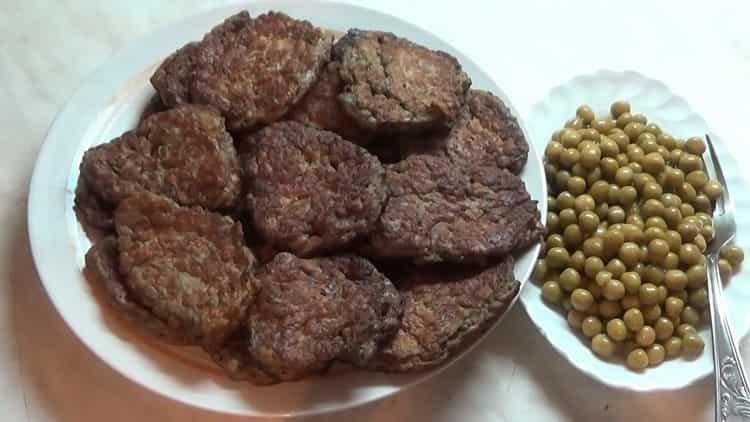котлеты из печени говяжьей рецепт