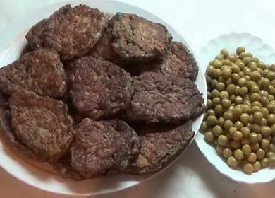 Как научиться готовить вкусные котлеты из печени говяжьей по простому рецепту 🥩