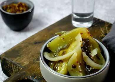 Вкуснейшие огурцы с горчицей 🥒
