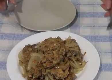 Как научиться готовить вкусные отбивные из печени свиной 🥣