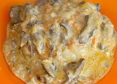 Как научиться готовить вкусную подливу из печени 
