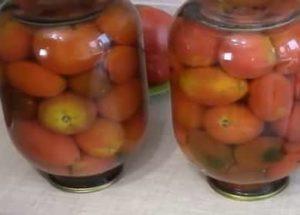 Вкусные маринованные помидоры с лимонной кислотой