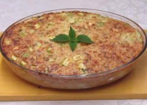 готовим обалденный рис с кабачками