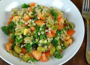 очень вкусный салат из перловки