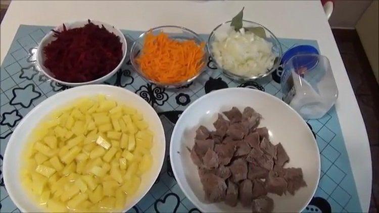 свекольник рецепт классический с мясом