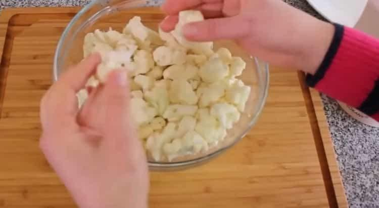 Как готовится цветная капуста в духовке