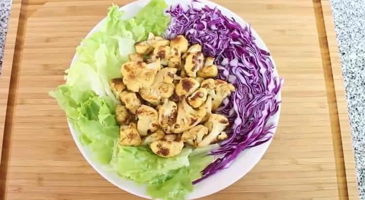 Цветная капуста в духовке по пошаговому рецепту с фото