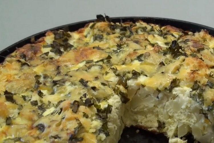 Цветная капуста с яйцом по пошаговому рецепту с фото