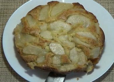 Очень вкусный пирог с грушами 🥧
