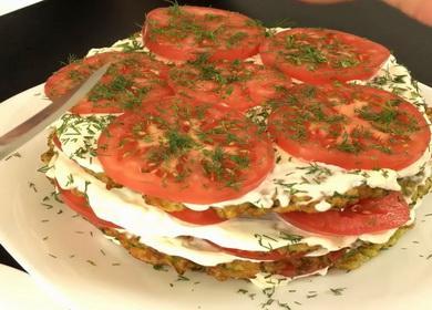Рецепт вкуснейшего кабачкового торта 🍅