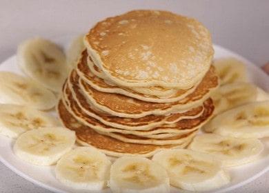 Банановые панкейки — вкусный завтрак 🥝 за 5 минут