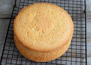 Нежный, пышный и простой 🥝 бисквит для торта