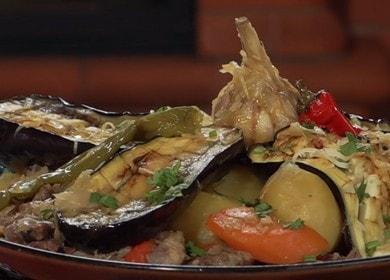 Самое любимое блюдо 🥝 в казане — узбекская басма