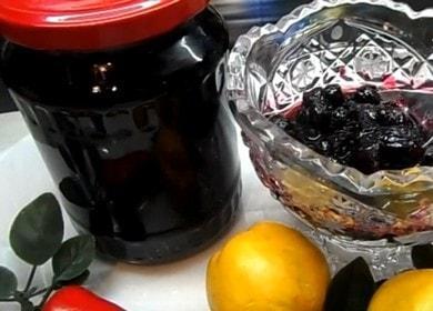 Ароматное варенье из черноплодной рябины с яблоками 