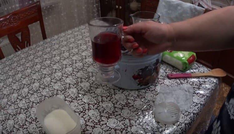 Виноградный уксус будет готов через 3 месяца.