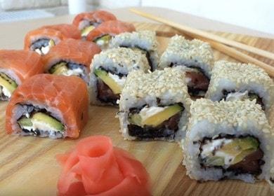 Как приготовить вкусные суши 🥝 дома