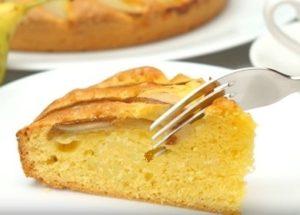 Изумительно вкусный грушевй пирог: рецепт с пошаговыми фото.