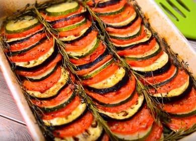 Вкусные запеченные овощи 🥝 в духовке
