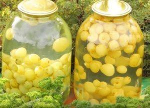 Готовим вкусный компот из винограда на зиму по пошаговому рецепту с фото.