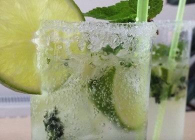 Коктейль Мохито по безалкогольному 🥝 рецепту