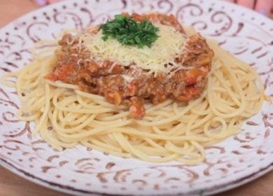 Яркая и сытная паста Болоньезе 諾