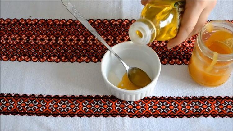 подготовьте ингредиенты для соуса