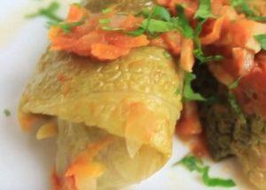 Нежная савойская капуста: рецепт приготовления голубцов.