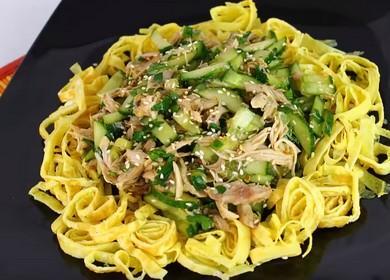 Очень легкий и вкусный 🥝 салат без майонеза