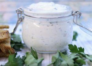 Готовим ароматный соус Ранч по пошаговому рецепту с фото.