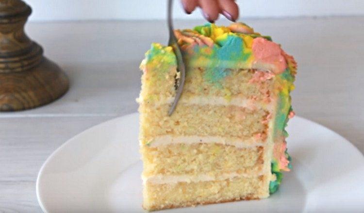 такой торт на день рождения порадует не только детей, но и взрослых.