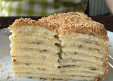 Нежный и вкусный торт 諾 на сковороде