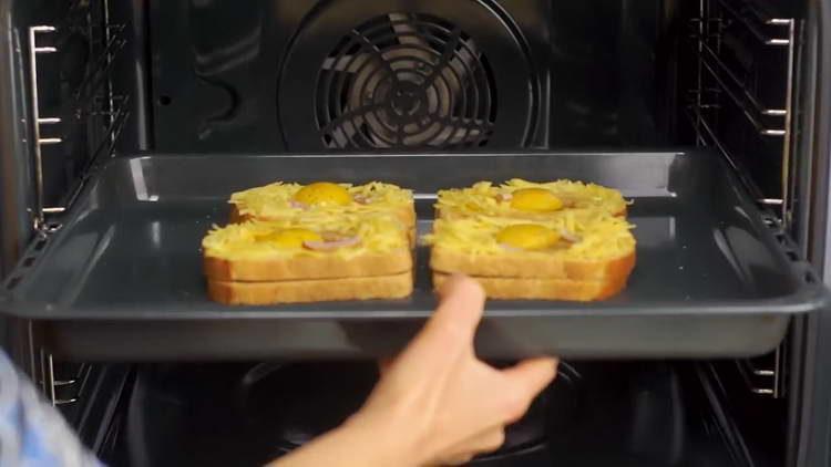 отправляем хлеб в духовку