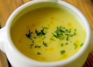 Рецепт приготовления супа-пюре из лука порей