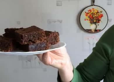Шоколадный брауни — очень 🥝 вкусный рецепт